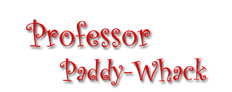 Professor Paddy-Whack PNG